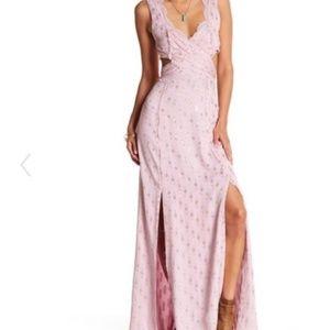 Free People Cross my Heart Jacquard Maxi Dress 2